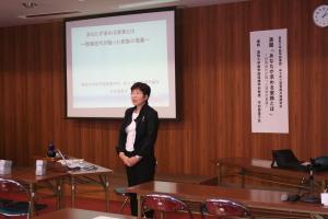 鳥大医学図書館共催講演会の報告(9.23)