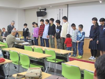 伯耆文化小中学生発表会 5